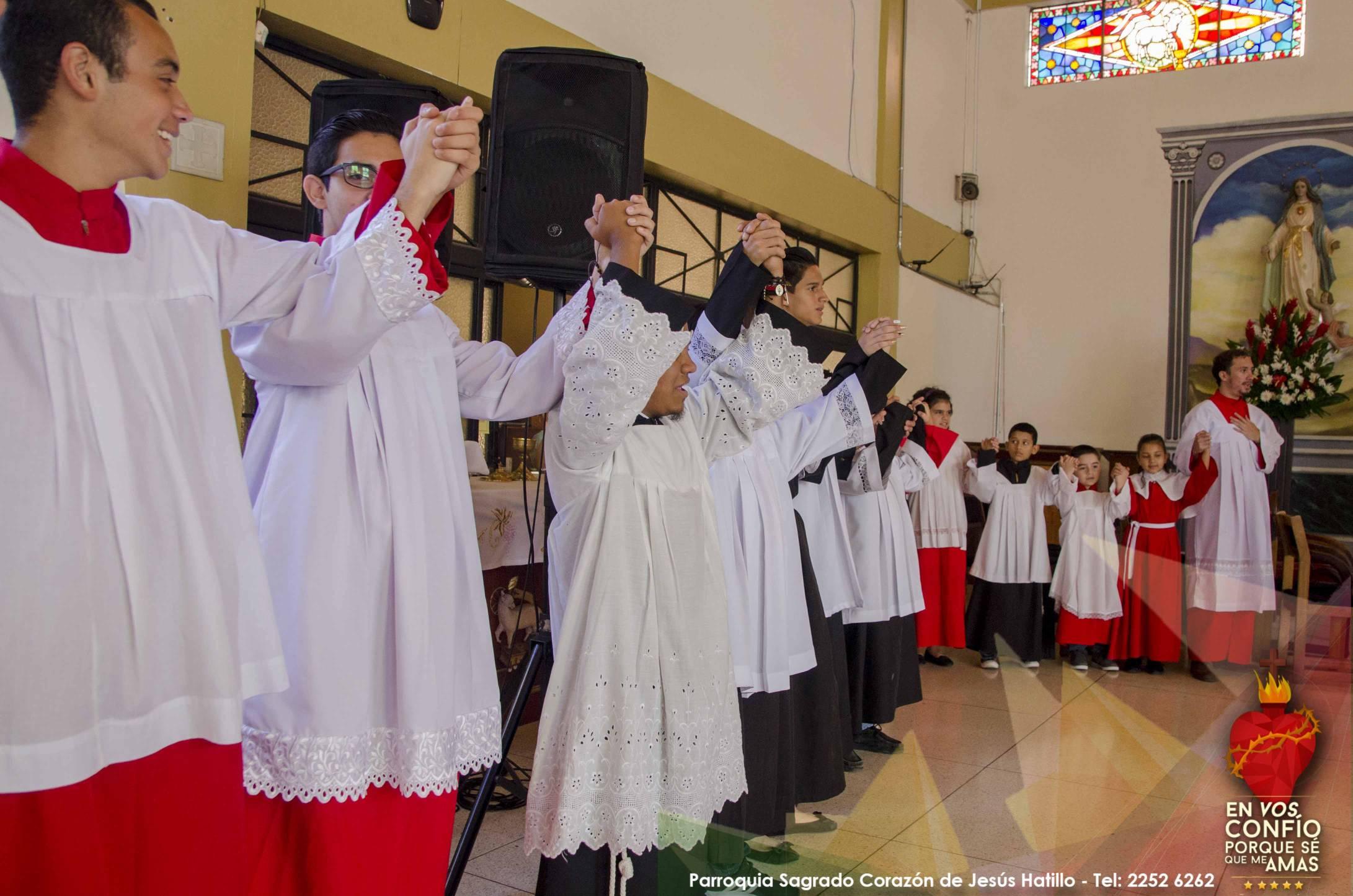 Servidores del Altar